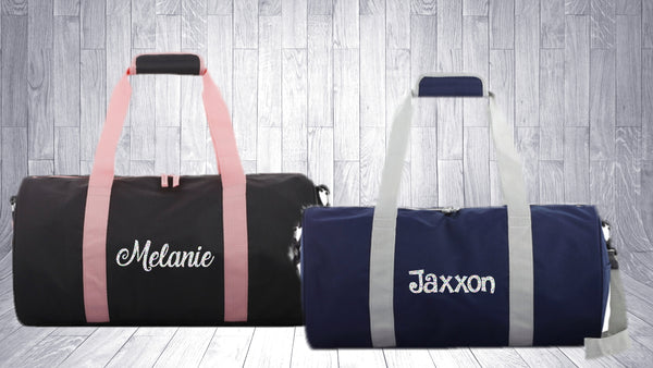 Personalised Duffle/Sports Bag - 2 Colours
