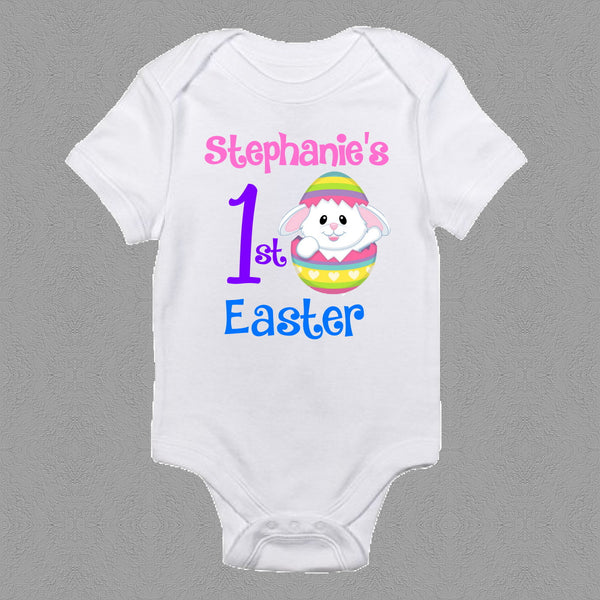 Personalised 1st Easter Onesie Boys or Girls- Design 2