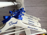 Personalised Wedding Bridal Coat Hangers