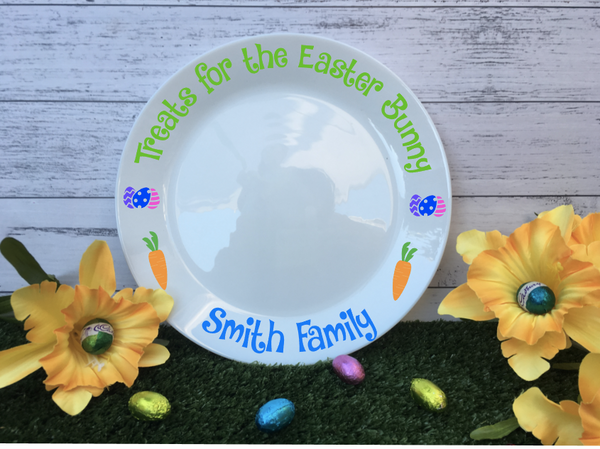 Personalised Ceramic Easter Treat Plate