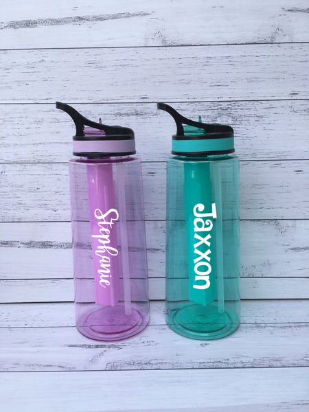 Personalised Drink Bottles with Freeze Sticks- 2 sizes