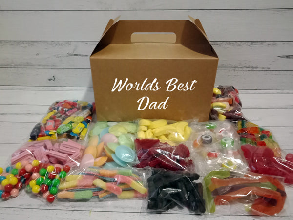 Personalised Lolly & Chocolate Gift Hamper Packs