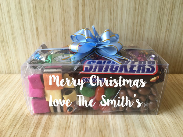 Personalised Lolly Rectangle Gift Box