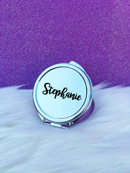 Personalised Mirrors Compacts