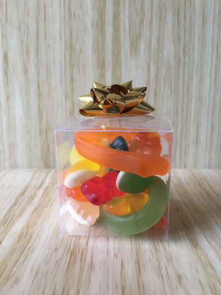 Little Lolly Cubes with Bows - Take Your Pick of Filling