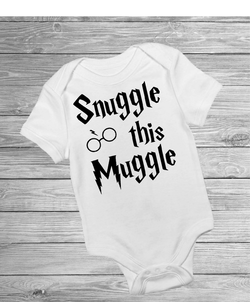 Snuggle This Muggle - Pre Designed Onesies