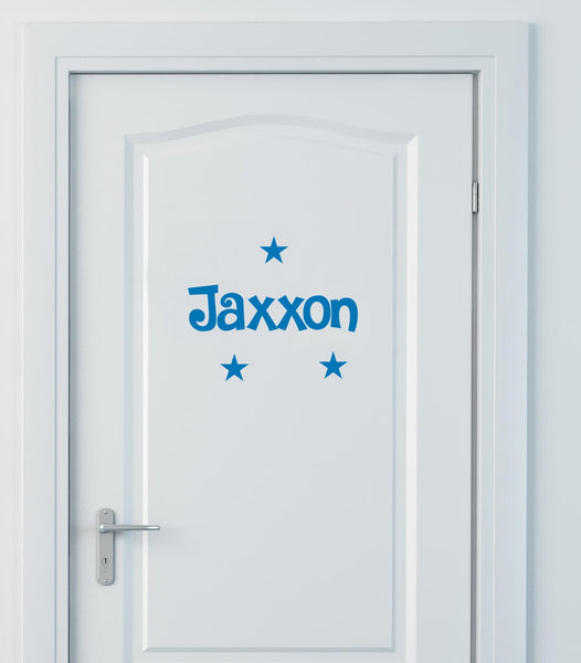 Personalised Name Door Decals