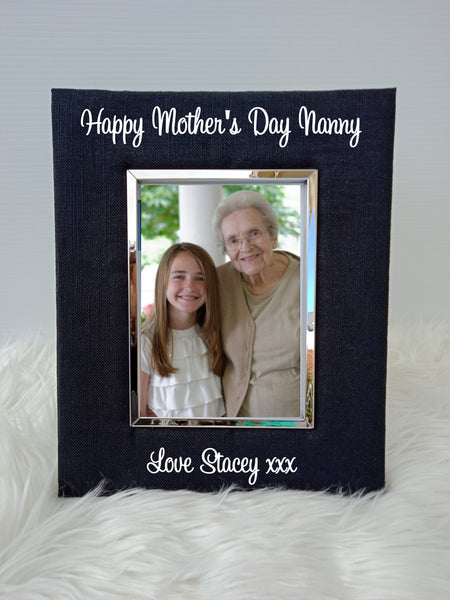 Personalised Mother's Day Standing Photo Frames - 5x7