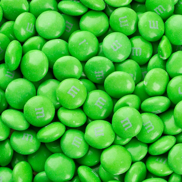 Single Colour Green M&M's - 100g - 500g