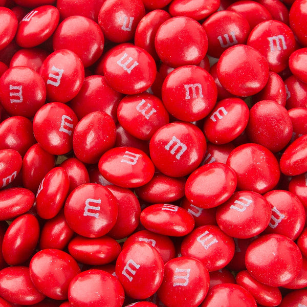 Single Colour Red M&M's - 100g - 500g