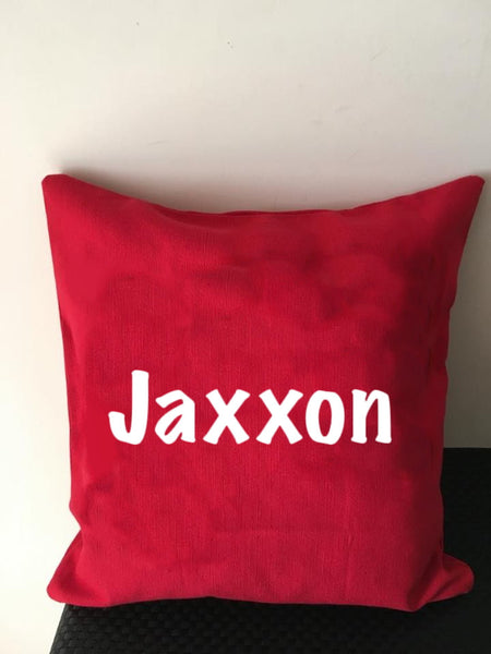 Personalised Name Cushion Covers- Limited Special