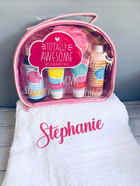 Teen Miss Totally Awesome Beauty & Bath Personalised Gift Pack