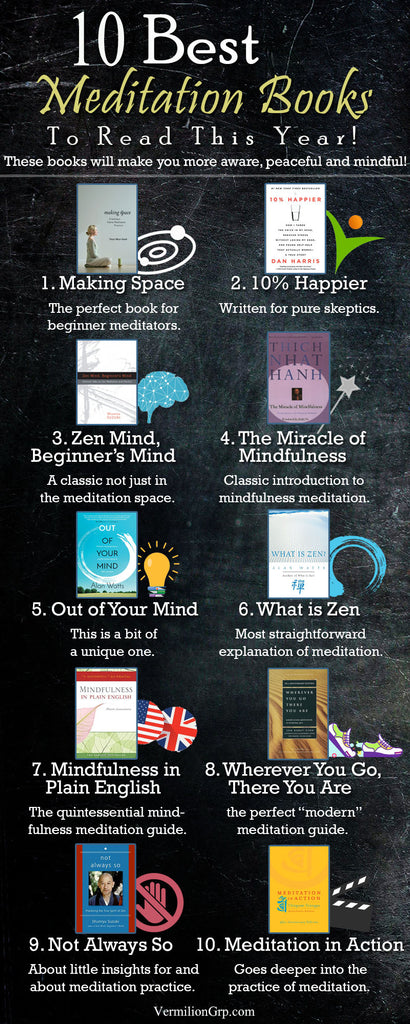 Best meditation books to read this year!