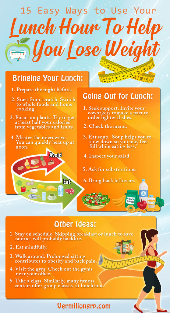 How To Use Your Lunch Hour to Lose Weight