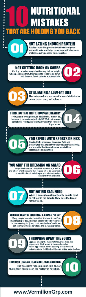Nutritional mistakes you should know!