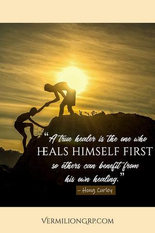 Best self healing quote from VermilionGrp