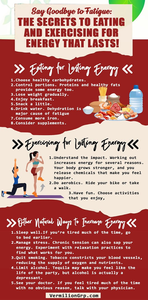 Overcome Fatigue and Get Energy That Last!