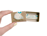 "BD008 - ""I whale always love you"" Whale Birthday Matchbox"