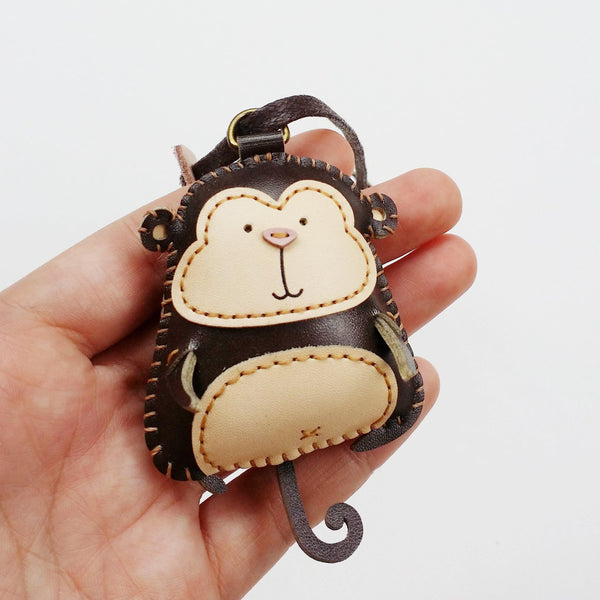 Monkey Leather charm - PT029