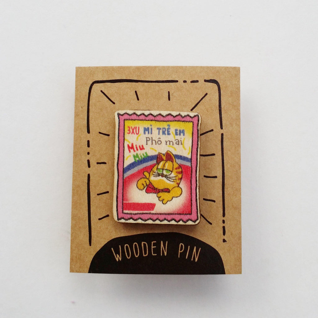 Cheese Noodle Snack Wooden Pin - PN031