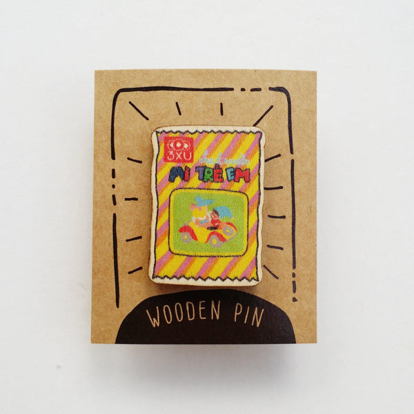 Noodle Snack Wooden Pin - PN043