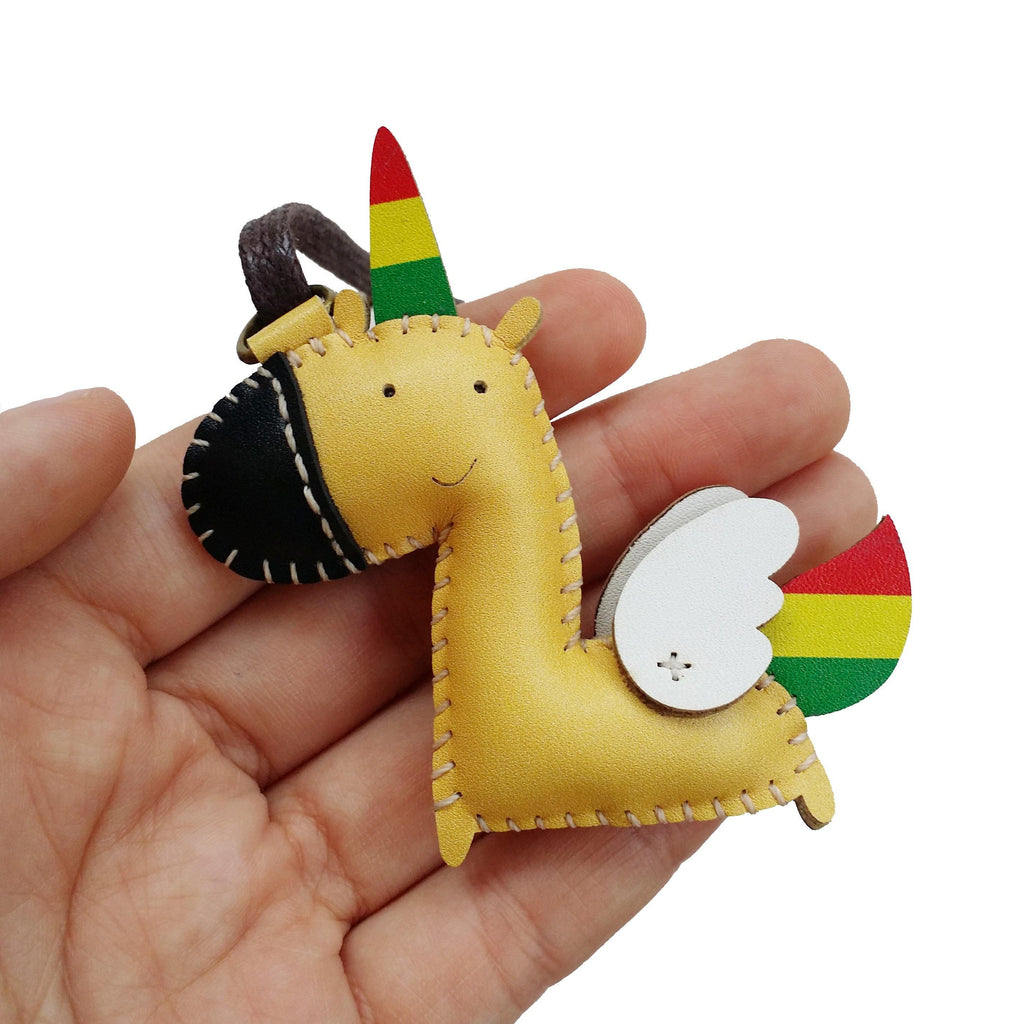 Unicorn Leather Charm - PT009