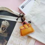 Mini Hand Bag Leather Charm - PT044