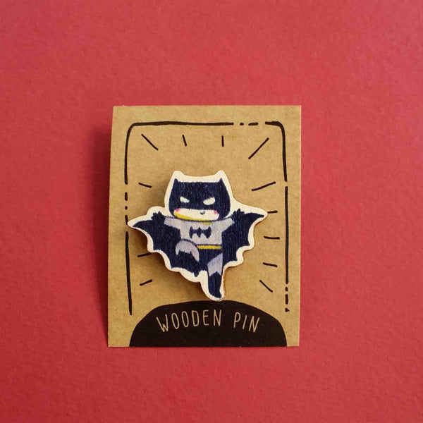 Batman Wooden Pin - PN001