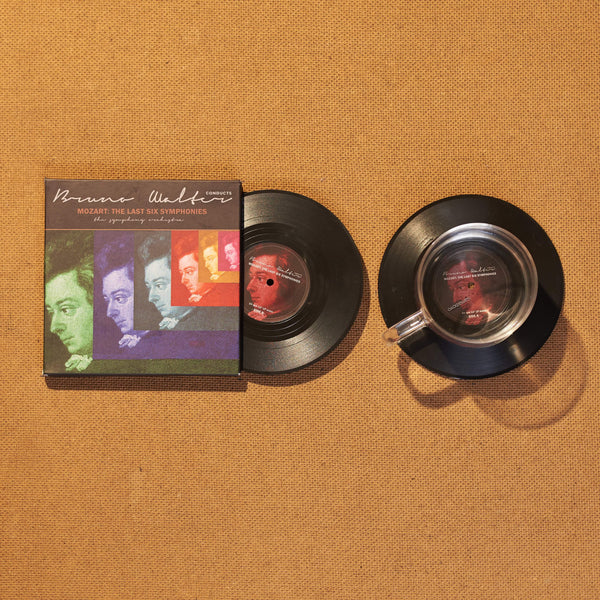 Vinyl Record Coasters, Set of 2, Mozart: The Last Six Symphonies - CS002