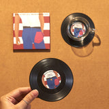 Vinyl Record Coasters, Set of 2, Bruce Springsteen's Born in the USA - CS023