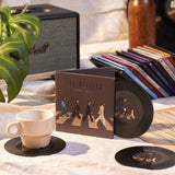 Vinyl Record Coasters, Set of 2, Beatle's Abbey Road - CS021