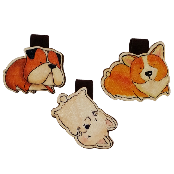 BM030 - Set 3 dogs corgi