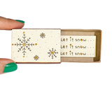 CM027 - Snowflake Let it snow