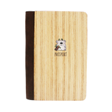 PC002 - Handmade Wooden Passport Cover - Koala