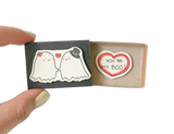 "LV001 - ""You're my Boo"" Matchbox Card"
