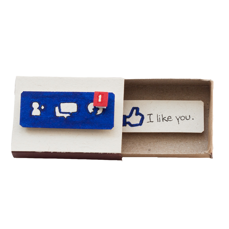 "LV007 - ""I Like You"" Facebook Card"
