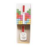"LV010 - ""You are my perfect piece"" Matchbox Card"