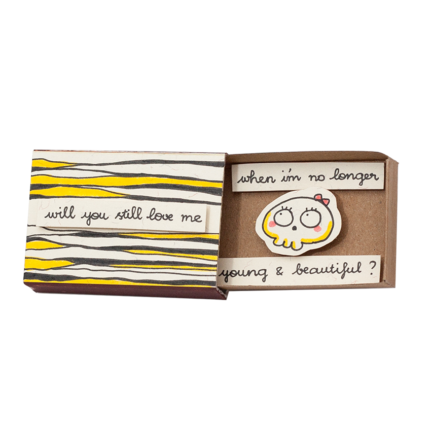 "LV082 - ""Will You Still Love Me?"" Matchbox"