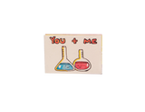LV101 - You and me - We have great chemistry Matchbox Card