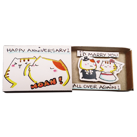LV122 - Cat happy anniversary