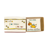 OT004 - Be Wild - Be Crazy - Be You Matchbox Card