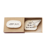 "OT039 - ""Keep calm and follow your dreams"" Matchbox"