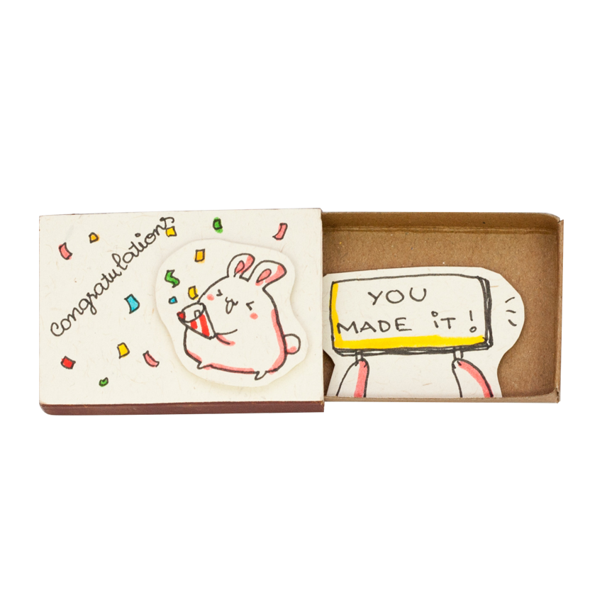 OT045 - Congratulations You made it Card