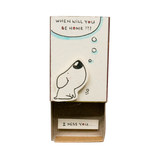 "OT070 - ""When will you be home - I miss you"" Matchbox Card"