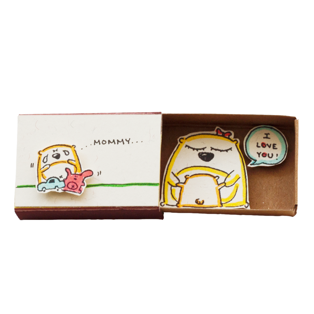 "OT076 - ""Mommy I love you"" Matchbox"