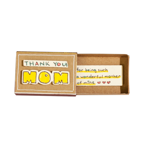 "OT077 - ""My mom and I like mother like daughter"" Matchbox"