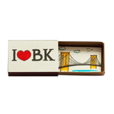 "OT079 - ""I love BK"" Matchbox Card"