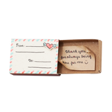 "OT086 - ""Thank you for always being there for me"" Matchbox Card"