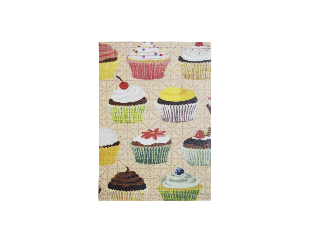 PP001 - Slim Passport Cover - Big Cupcakes