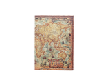PP003 -Slim Passport Cover - World Map Passport Case